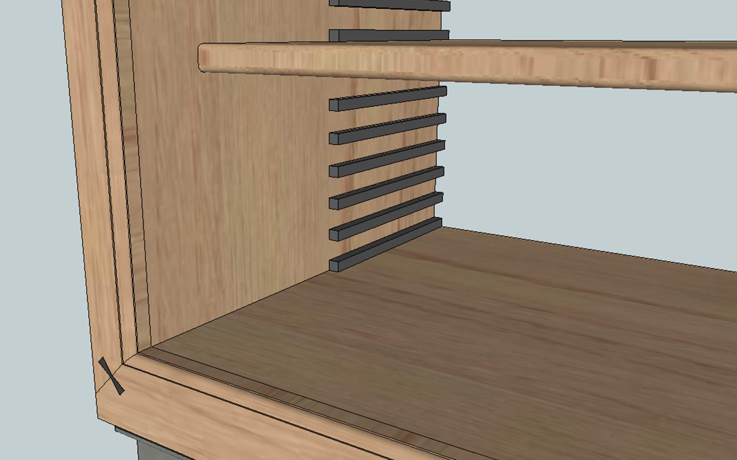 biblioth que laurence eb nisterie 111. Black Bedroom Furniture Sets. Home Design Ideas