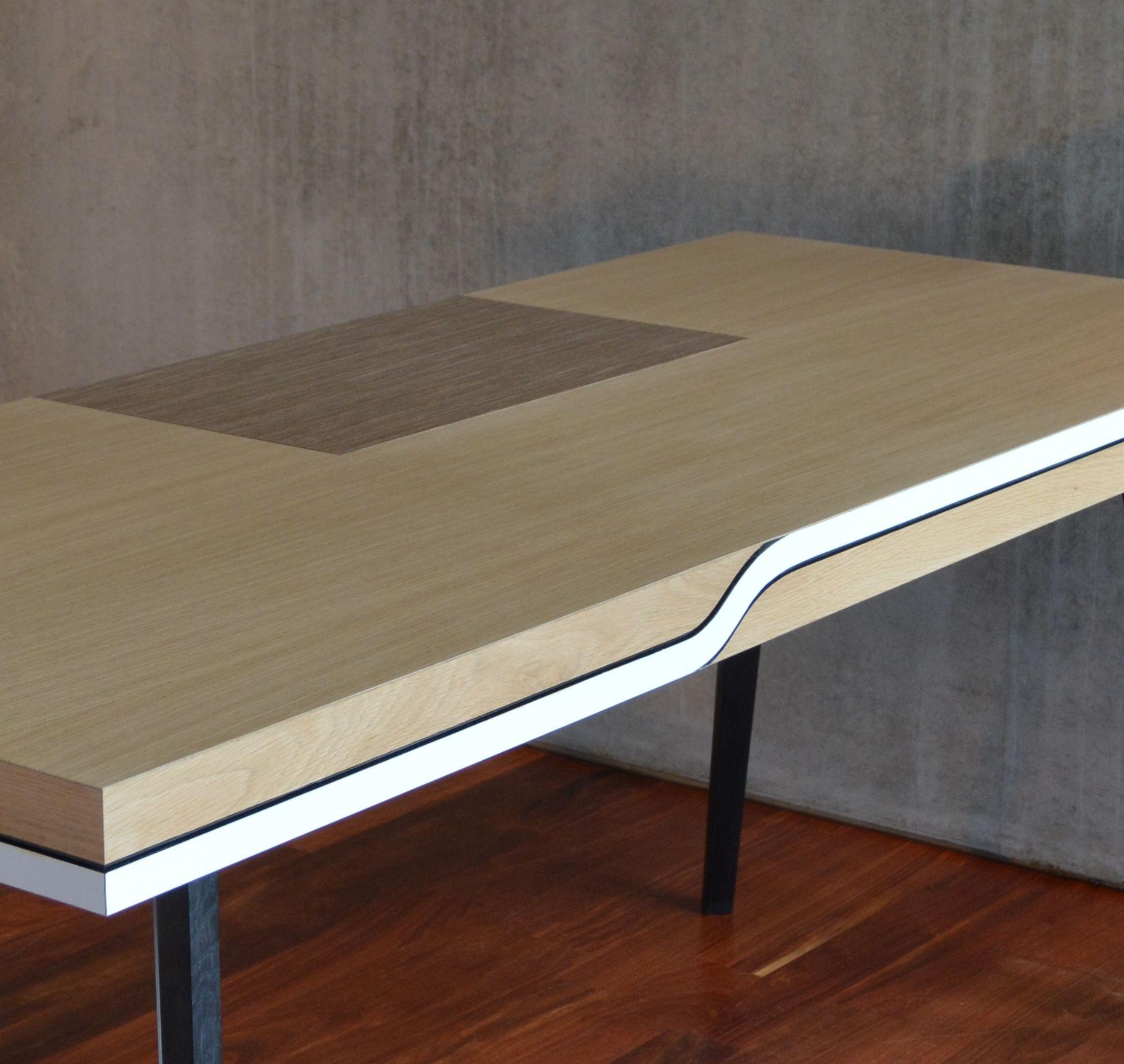 plateau de bureau sur mesure bureaux agencement vannes. Black Bedroom Furniture Sets. Home Design Ideas