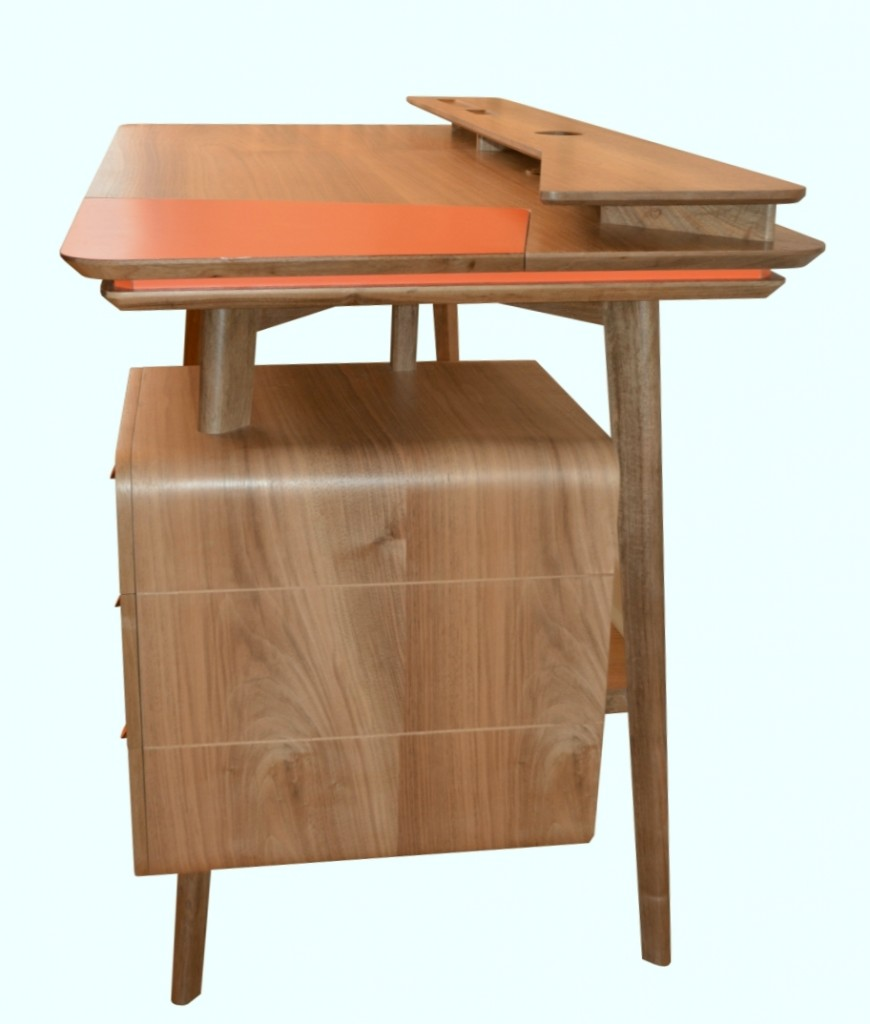 bureau contemporain sur mesure
