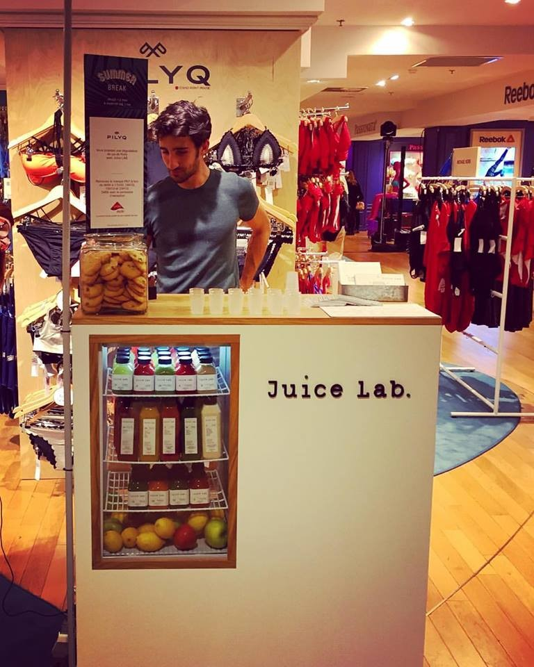 Bar JuiceLab en action
