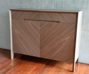 buffet contemporain en noyer