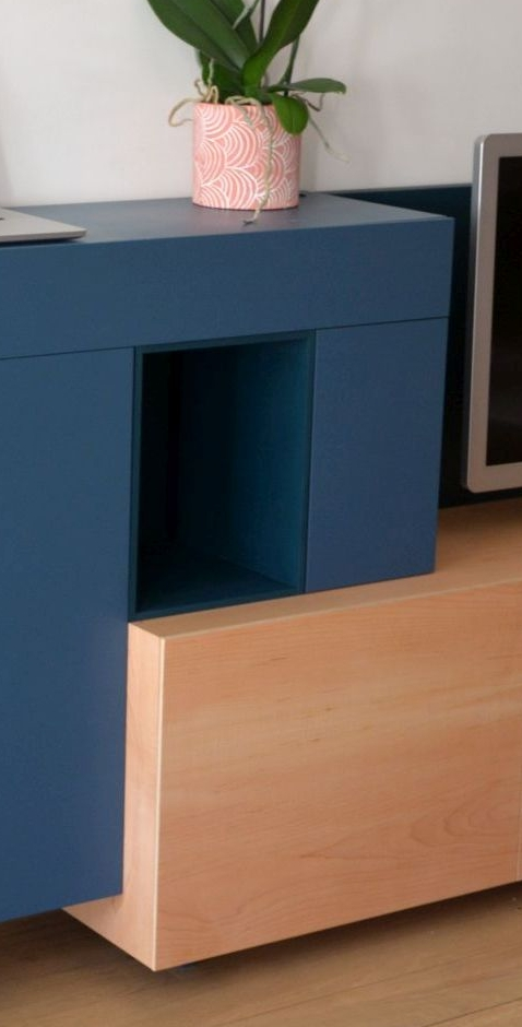 meuble TV avec niche