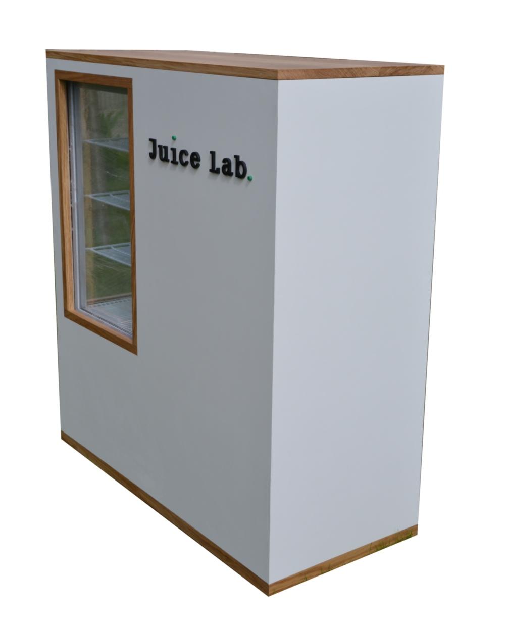 bar mobile à jus de fruits